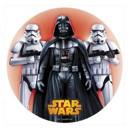 Opłatek na tort Gwiezdne Wojny-Nr 1-21cm