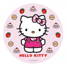 Opłatek na tort Hello Kitty-Nr 12-21cm