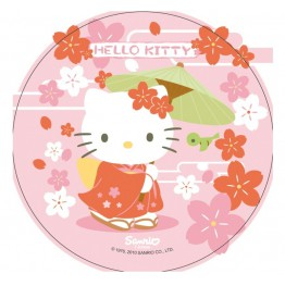 Opłatek na tort Hello Kitty-Nr 15-21cm