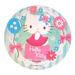 Opłatek na tort Hello Kitty-Nr 16-21cm