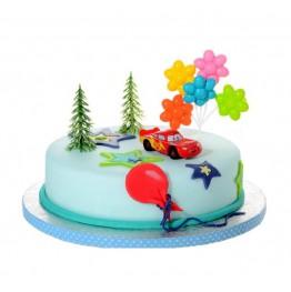 Zestaw na tort dla chłopca-Carsy
