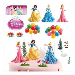 Zestaw na tort dla dziewczynki-Księżniczki