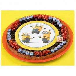 Opłatek na tort Minionki-Nr 4-21cm