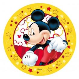 Opłatek na tort Myszka Miki-Nr 19-21cm