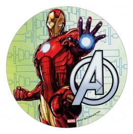 Opłatek na tort Avengers-Nr 1-21cm