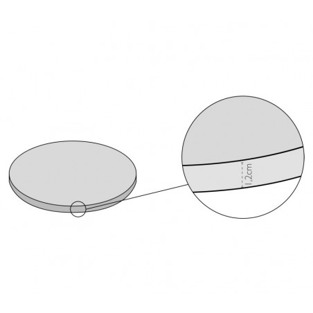 Podkład pod tort-Modecor Okrągły 40cm