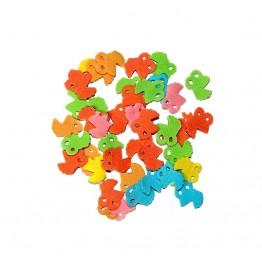 Konfetti cukrowe wózeczki mix kolorów 20g