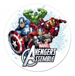 Opłatek na tort Avengers-Nr 5-21cm