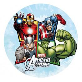 Opłatek na tort Avengers-Nr 6-21cm