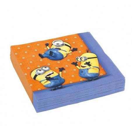 Serwetki papierowe Minionki-20 sztuk