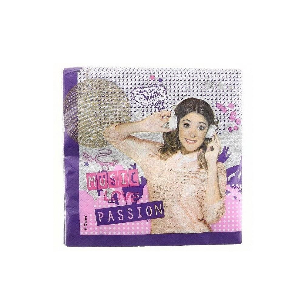 Serwetki papierowe Violetta-20 sztuk