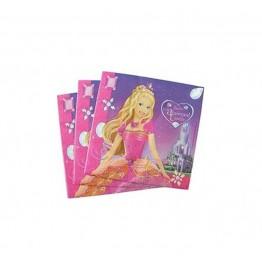 Serwetki papierowe Barbie-20 sztuk