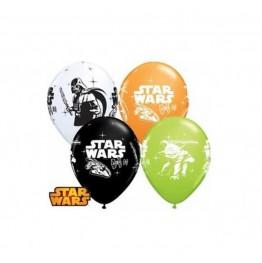 Balony Qualatex-Star Wars 4 sztuki