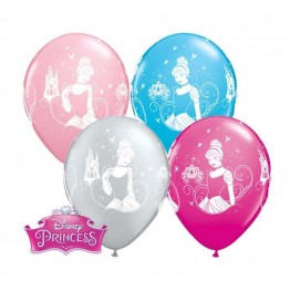 Balony Qualatex-Kopciuszek 4 sztuki