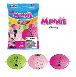Balonowy baner urodzinowy Myszka Minni