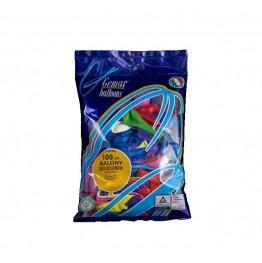 Balony lateksowe Gemar-mix kolorów 100 sztuk