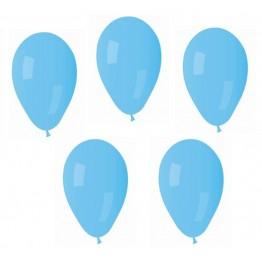 Balony błękitne Gemar 100 sztuk