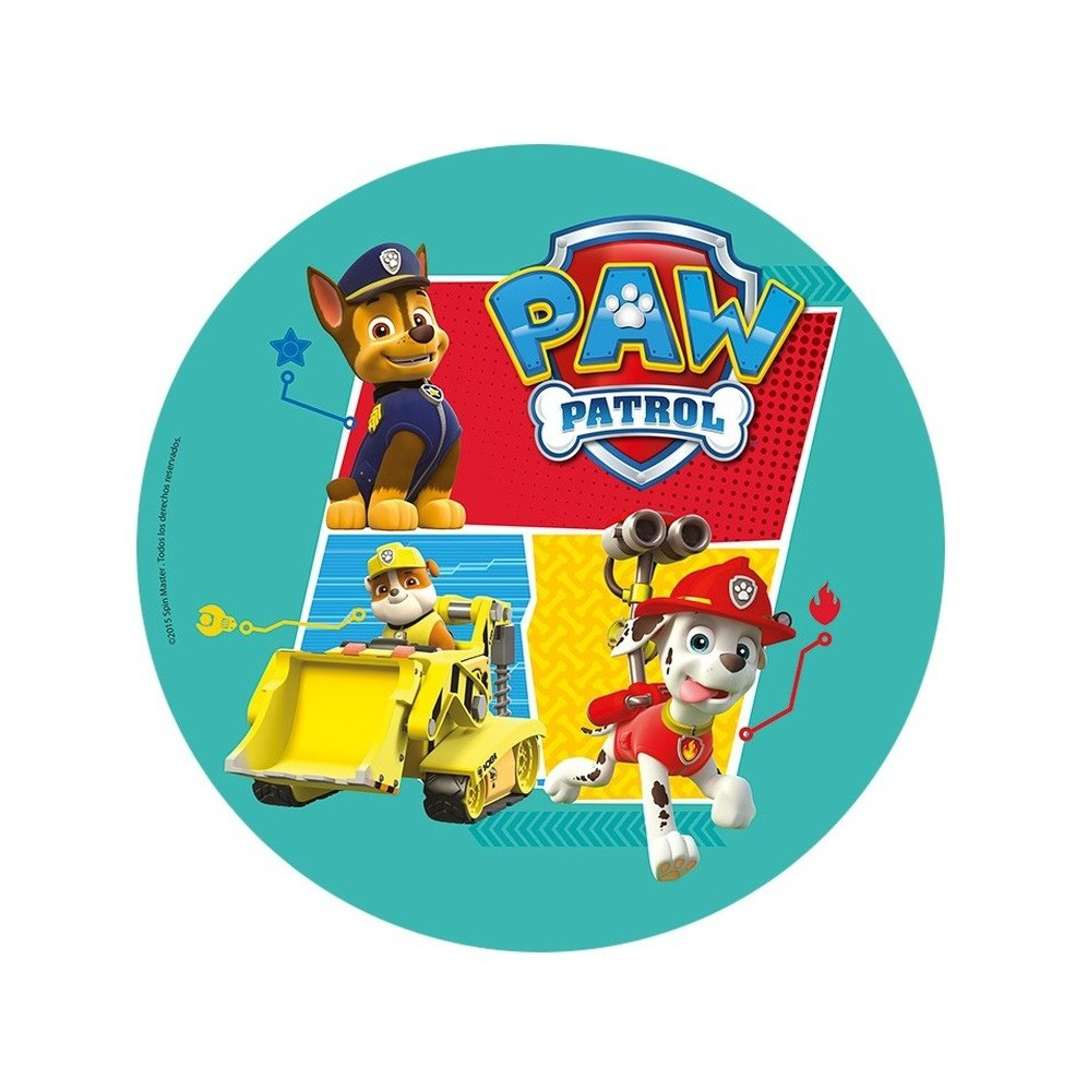 Opłatek na tort Psi Patrol-Nr 2-21cm