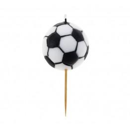 Świeczka urodzinowa piłka nożna