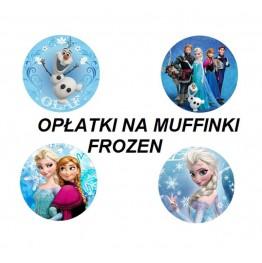 Opłatki na muffinki Frozen 4