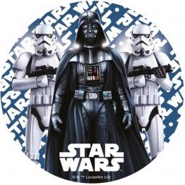 Opłatek na tort Gwiezdne Wojny-Nr 6-21cm