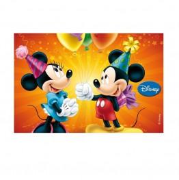 Opłatek na tort Myszka Miki-Prostokąt-3-29cmx20cm