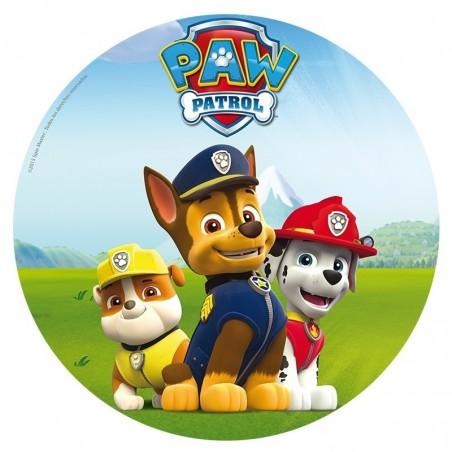 Opłatek na tort Psi Patrol-Nr 3-21cm
