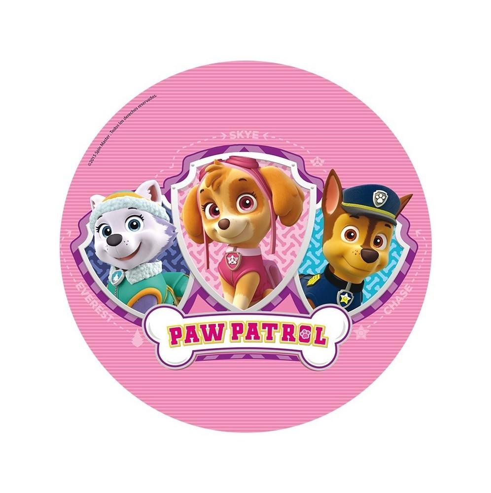 Opłatek na tort Psi Patrol-Nr 4-21cm