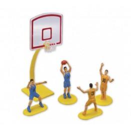 Zestaw do koszykówki na tort