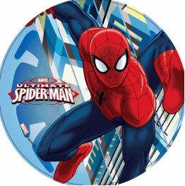 Opłatek na tort Spiderman-16-21cm