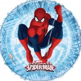 Opłatek na tort Spiderman-17-21cm