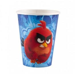 Kubeczki plastikowe Angry Birds Movie-8 sztuk