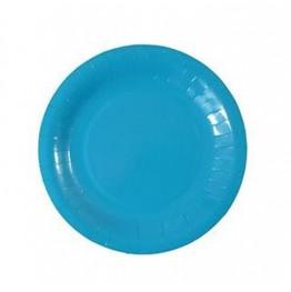 Talerzyki urodzinowe niebieskie-6 sztuk-18cm