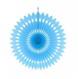 Rozeta dekoracyjna Błękitna-40 cm