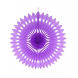 Rozeta dekoracyjna Lawendowa-40 cm