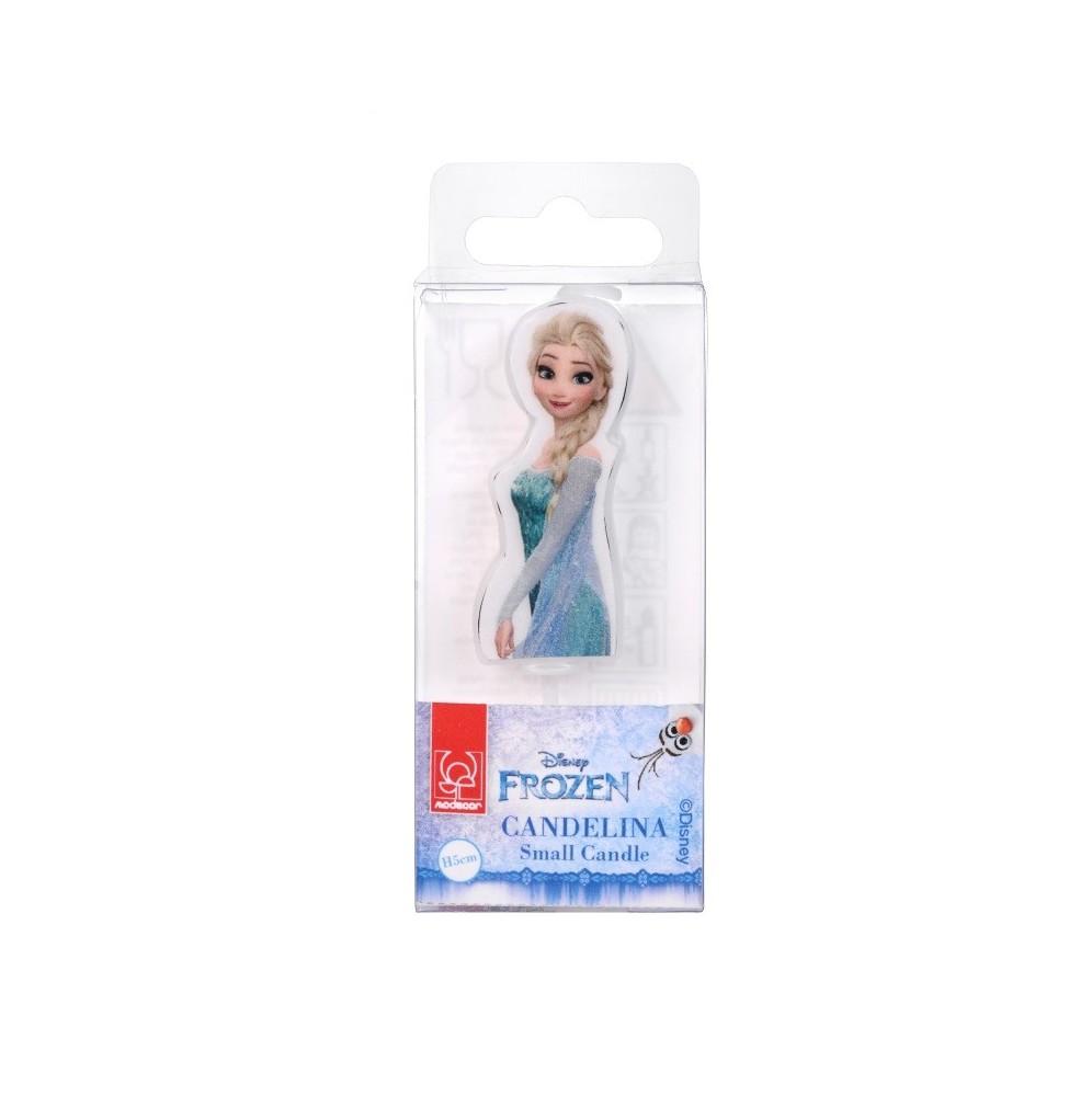 Świeczka urodzinowa Elsa-Modecor