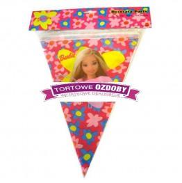 Banner urodzinowy-Barbie