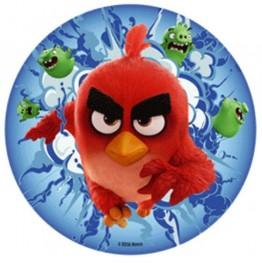 Opłatek na tort Angry Birds-Nr 5-21cm