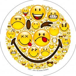 Opłatek na tort Smiley World-Nr 1-21cm