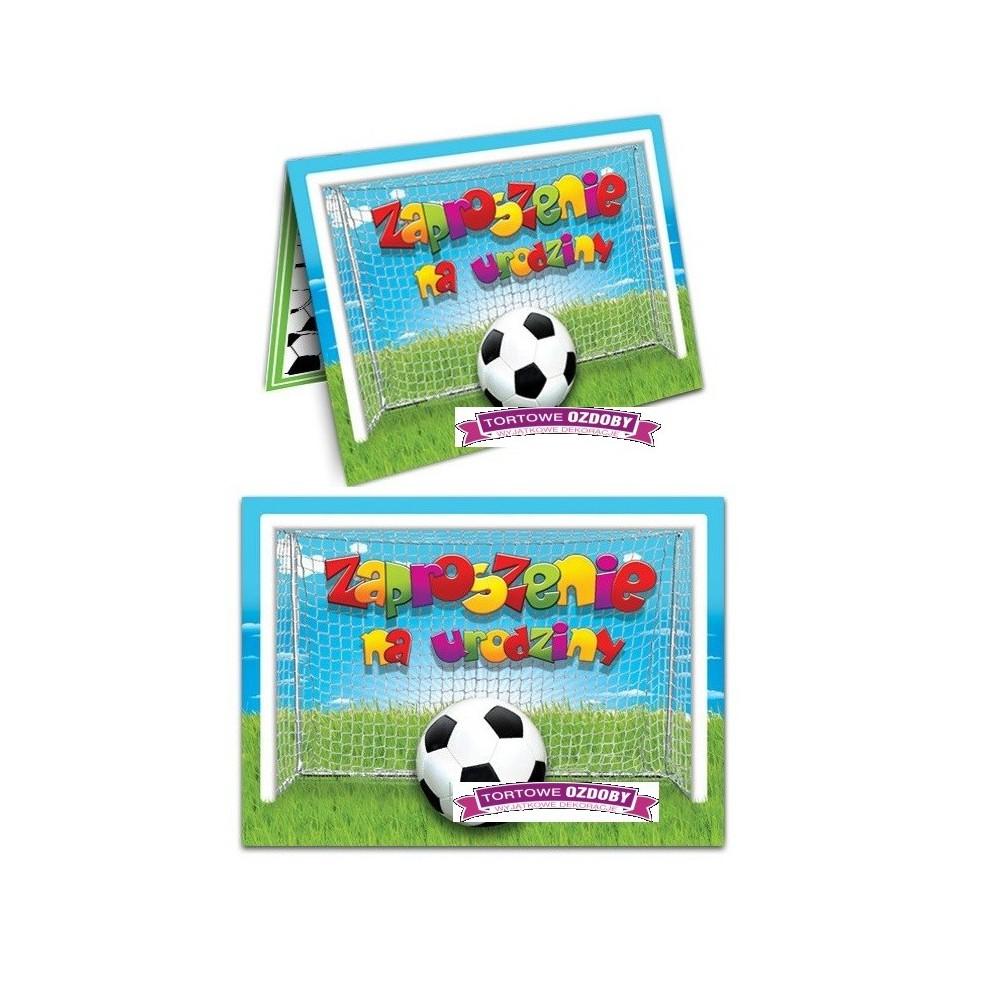 Zaproszenie Na Urodziny Piłkarskie 10 Sztuk
