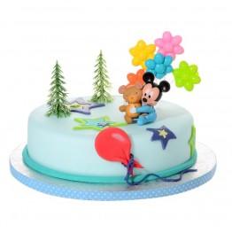 Zestaw urodzinowy na tort Mały Miki