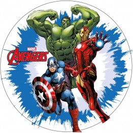 Opłatek na tort Avengers-Nr 7-21cm