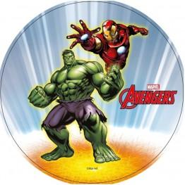 Opłatek na tort Avengers-Nr 8-21cm