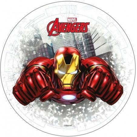 Opłatek na tort Avengers-Nr 9-21cm
