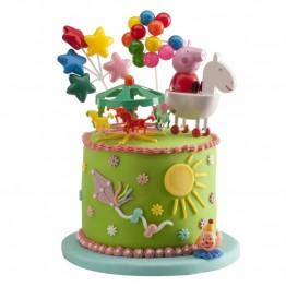 Zestaw urodzinowy na tort Świnka Peppa