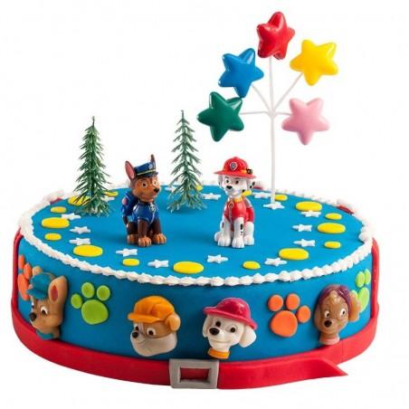 Zestaw urodzinowy na tort Psi Patrol-Dekora