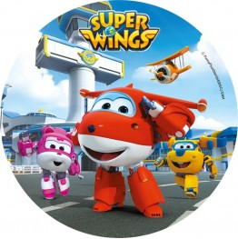Opłatek na tort Super Wings-Nr 2-20cm