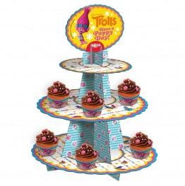 Stojak na muffinki-Trolle-Dekora