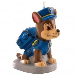 Świeczka urodzinowa 3D Psi Patrol-Dekora