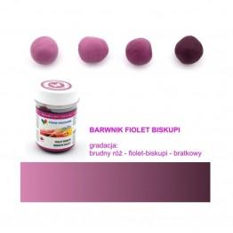 Barwnik Food Colours w żelu fiolet biskupi 35g